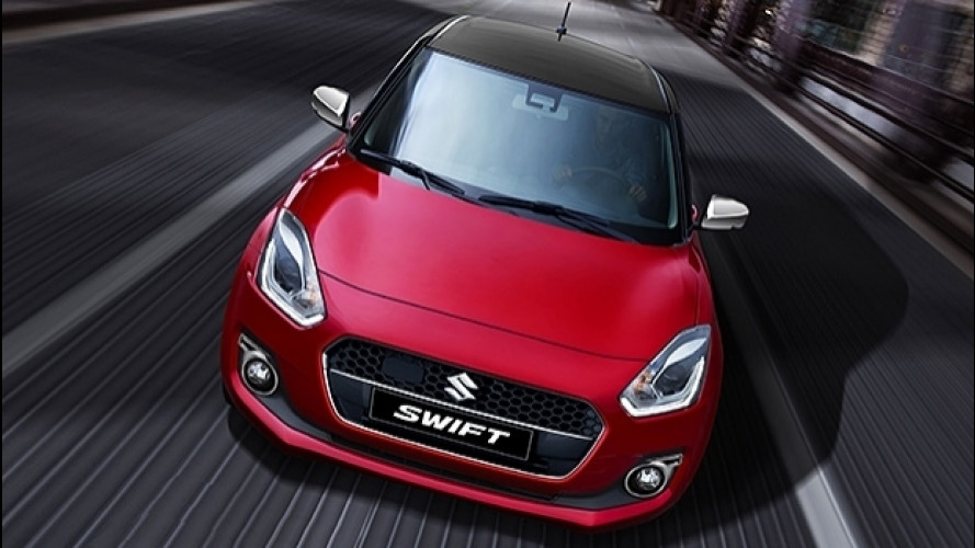 Nuova Suzuki Swift Web Limited Edition, ibrida per iniziare