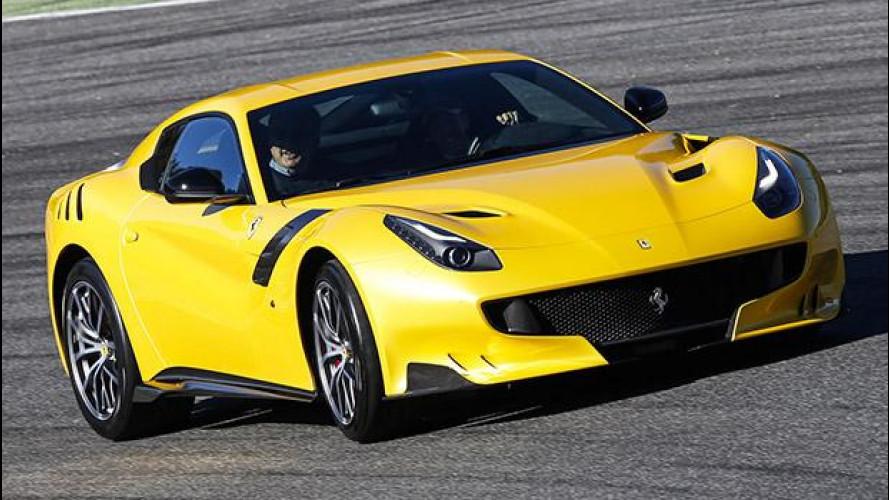 Ferrari F12tdf, tutti venduti i 799 esemplari