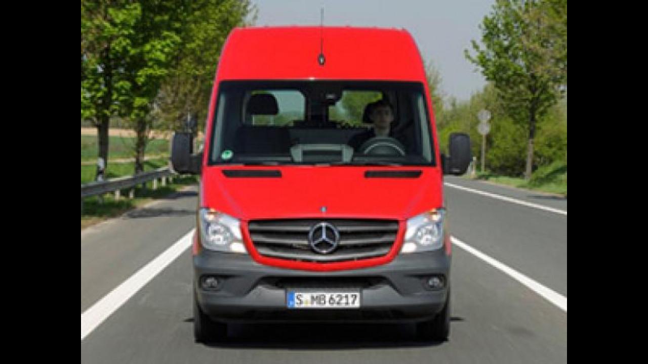 [Copertina] - Sulle colline di Montalcino con il nuovo Mercedes Sprinter