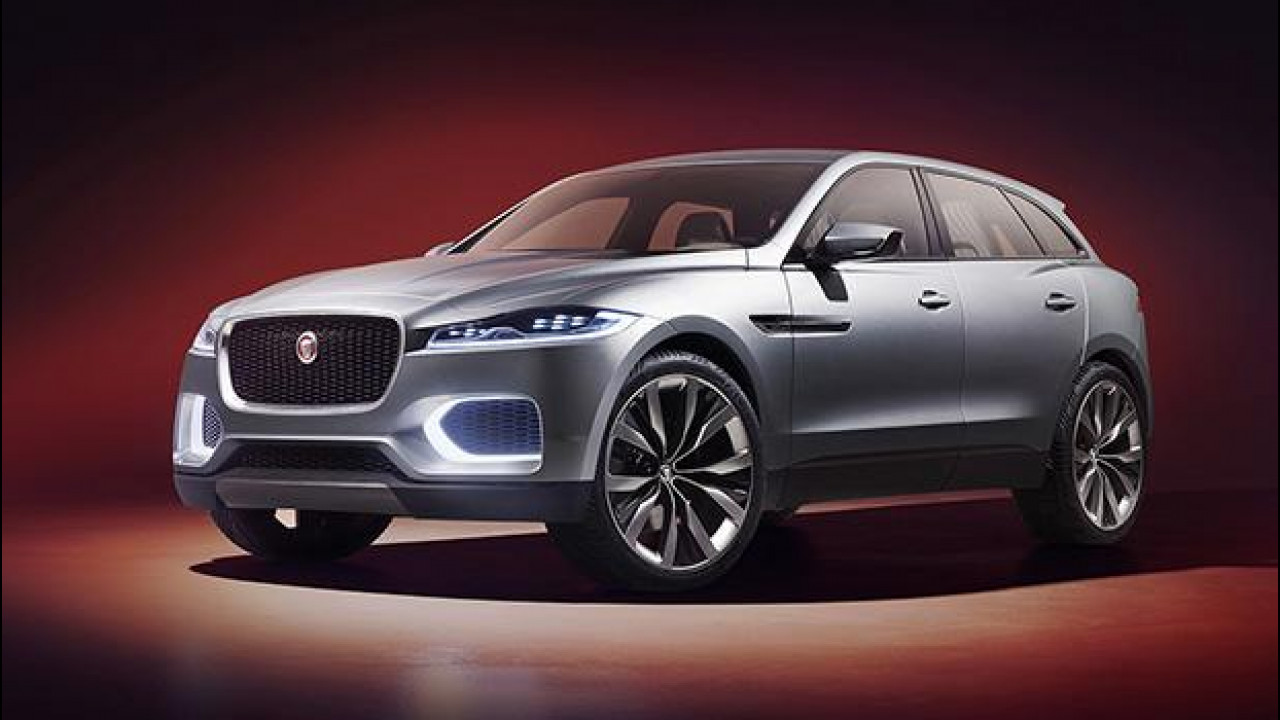 [Copertina] - La Jaguar C-X17 si tinge d'argento per il Medio Oriente