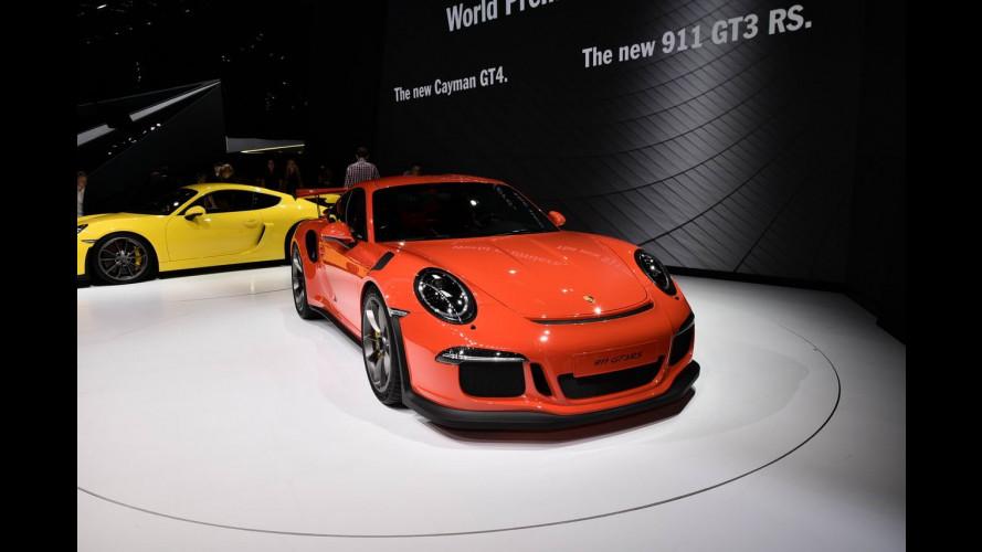 Porsche 911 GT3 RS e Cayman GT4, supersportive a Ginevra