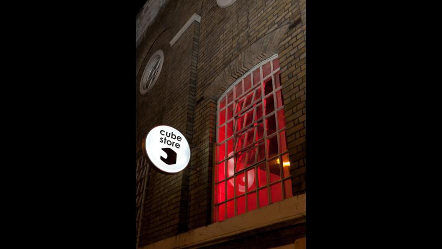 """Nissan Cube: aperto a Londra il """"Cube Store"""""""