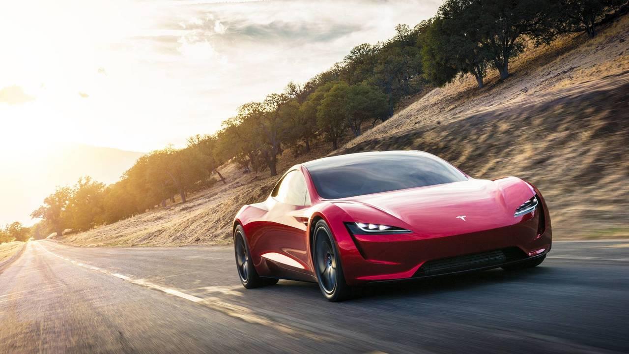 Tesla Roadster Slider
