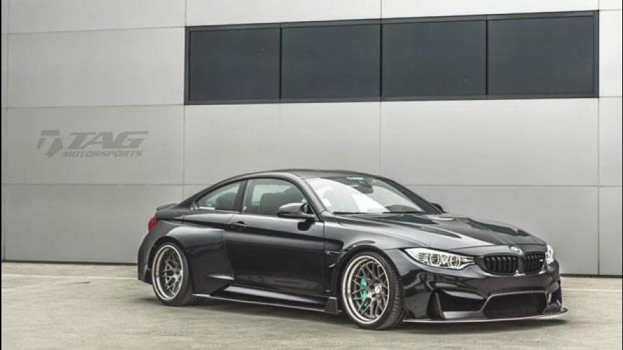 BMW M4, l'interpretazione estrema di TAG Motorsports