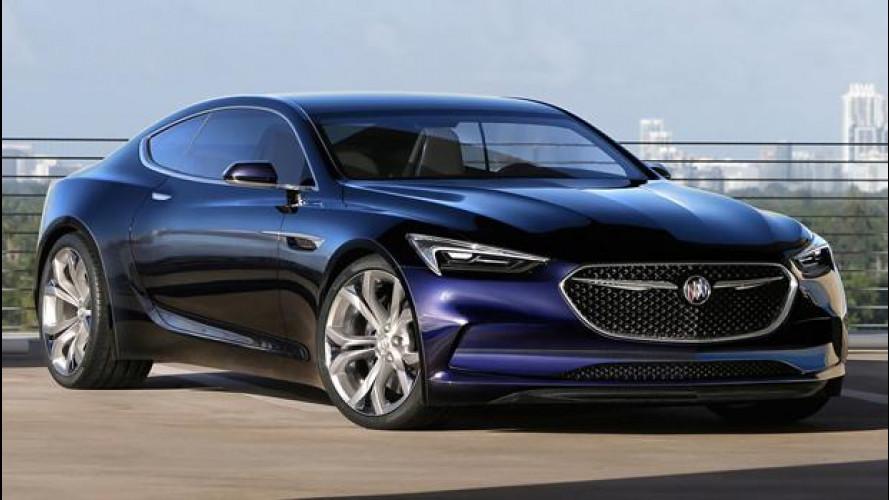 Buick Avista Concept, il ritorno della tradizione sportiva