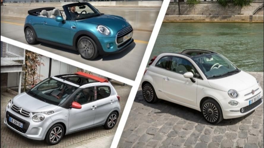 Cabriolet, le 10 auto più economiche a cielo aperto