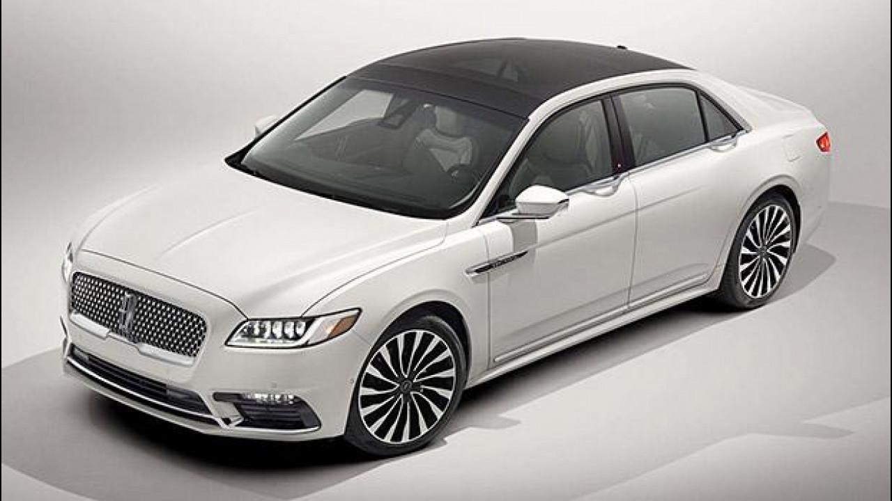 [Copertina] - Nuova Lincoln Continental, l'ammiraglia secondo Ford
