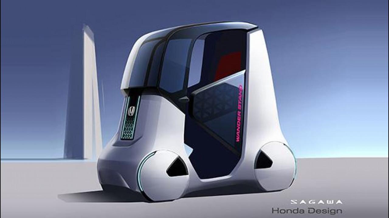 [Copertina] - Honda Wander Stand Concept, libertà di movimento
