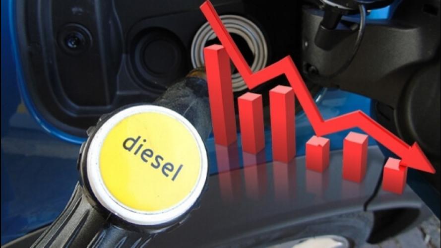 Auto Diesel, calo di vendite in Europa, ma non in Italia