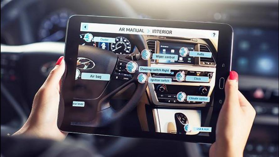 Hyundai, il primo libretto di istruzioni in realtà aumentata