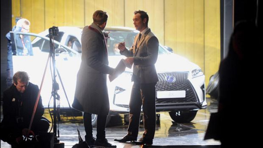 Lexus RX sperimenta un nuovo tipo di spot con Jude Law [VIDEO]