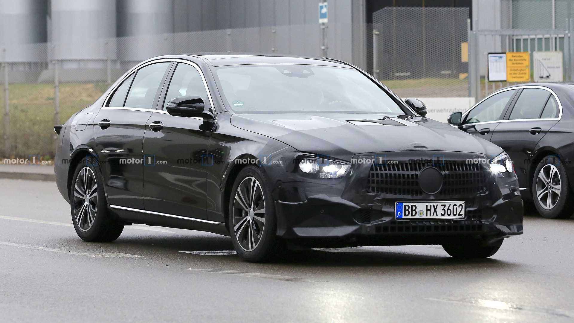 2020 - [Mercedes-Benz] Classe E restylée  Mercedes-e-class-sedan-facelift-spy-photo