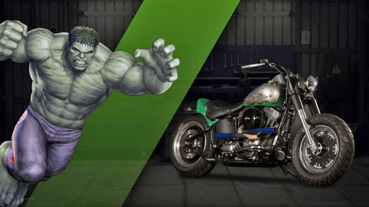 "The Hulk - Harley-Davidson Fat Boy ""Strength"""
