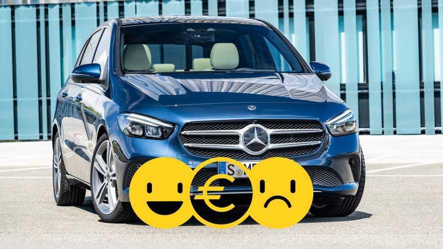 Promozione Mercedes Classe B, perché conviene e perché no