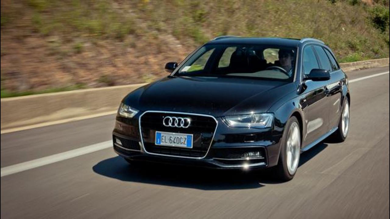 [Copertina] - Audi A4 Avant 3.0 TDI Multitronic 204 CV