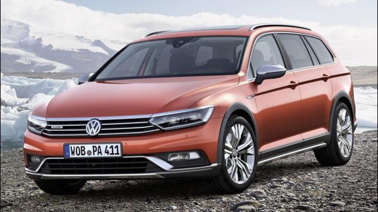 [Copertina] - Nuova Volkswagen Passat Alltrack, la station-crossover