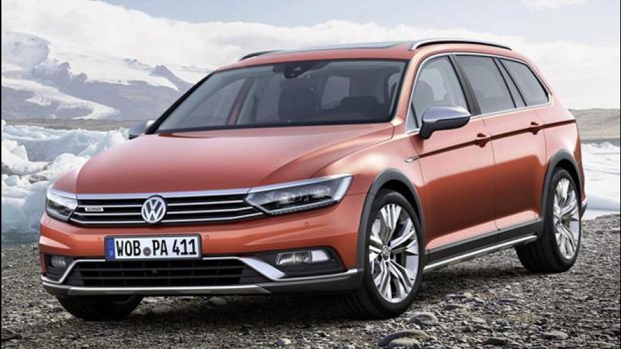 Nuova Volkswagen Passat Alltrack, la station-crossover