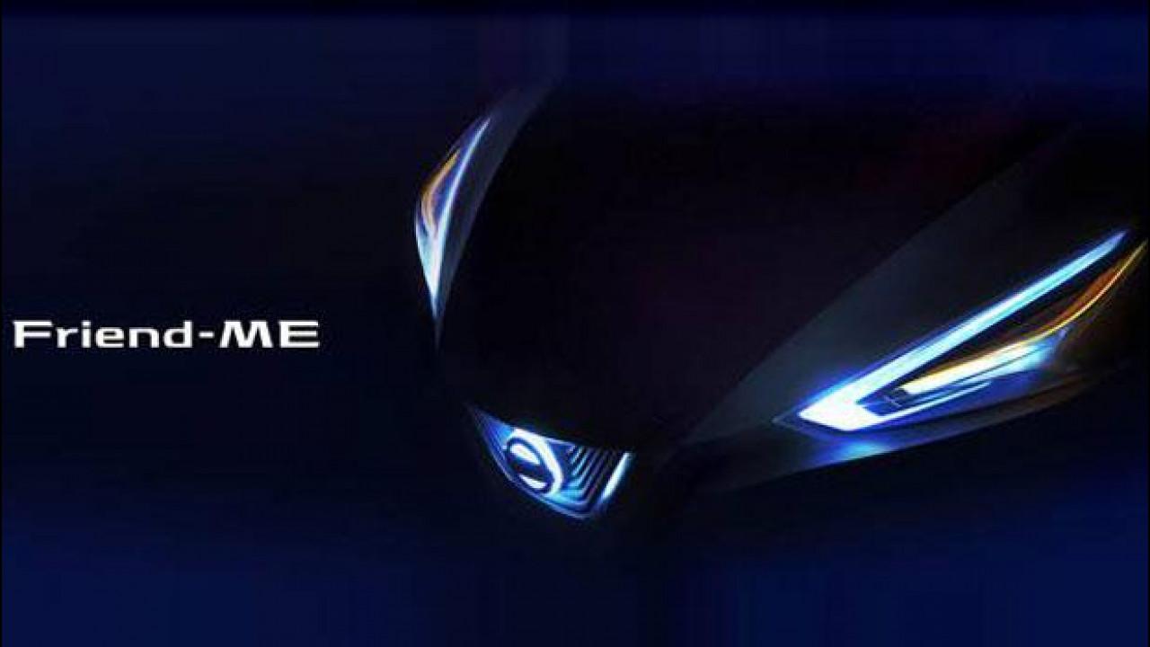 [Copertina] - Nissan Friend-ME, il futuro dell'auto visto dalla Cina