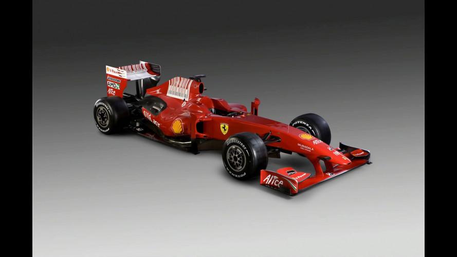 La nuova Ferrari F1 2009