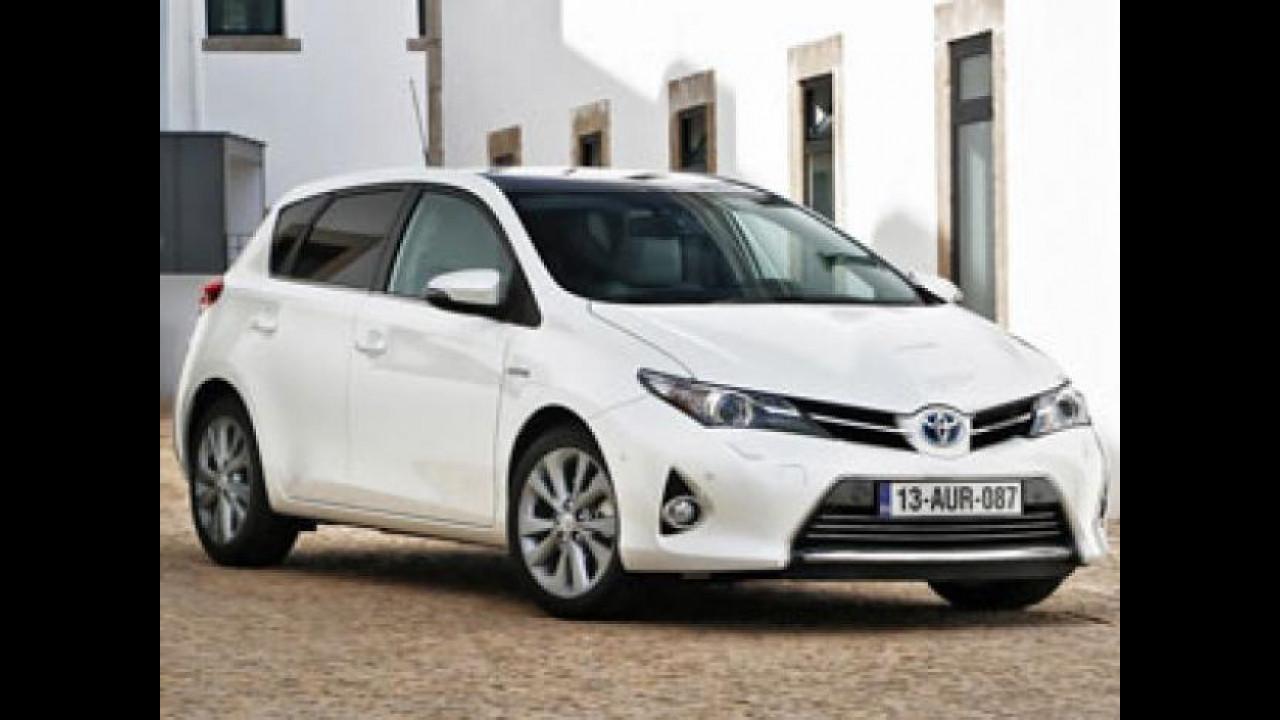 [Copertina] - Toyota Auris Hybrid, porte aperte sabato 12 e domenica 13 gennaio
