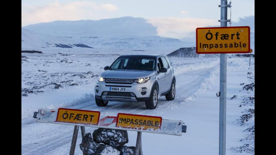 Land Rover Discovery Sport, una prova