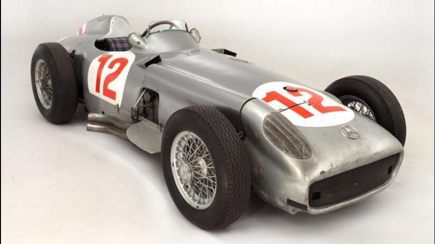 La Mercedes F1 di Fangio venduta a 22 milioni di euro