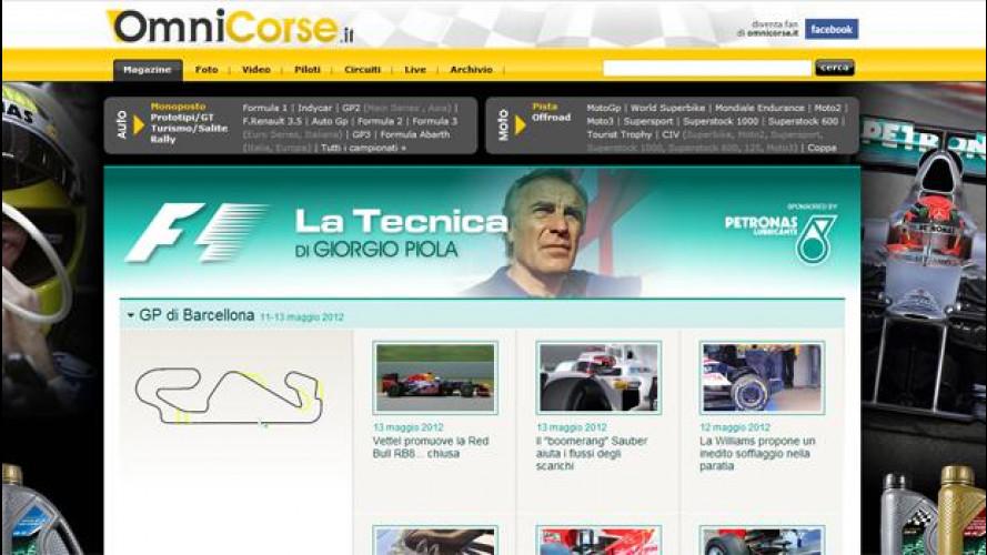 Su OmniCorse.it la Formula 1 spiegata da Giorgio Piola