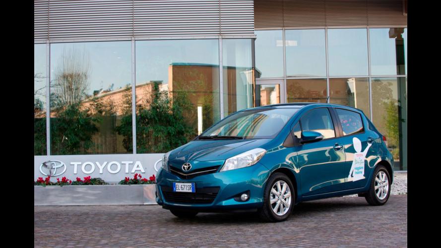 Toyota dona una Yaris all'associazione Peter Pan