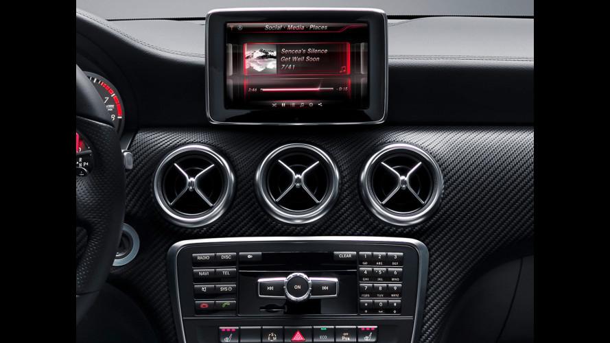Nuova Mercedes Classe A: prime foto degli interni