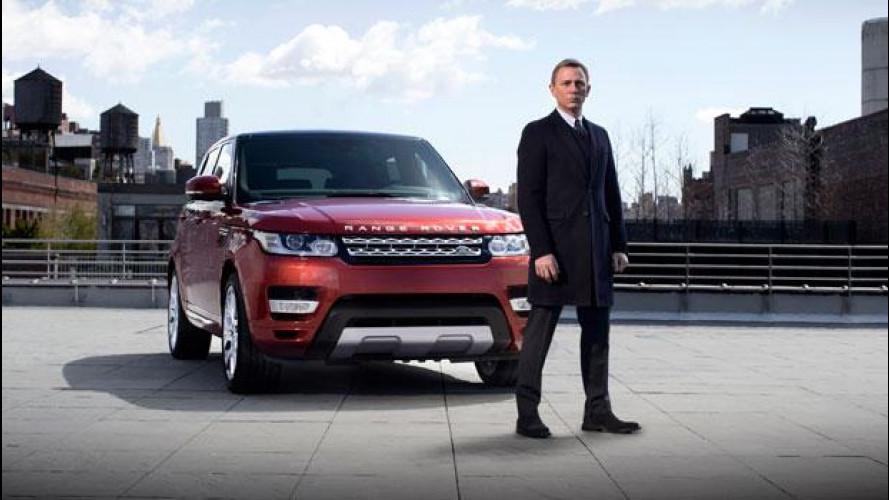 Nuova Range Rover Sport, debutto a New York con Daniel Craig