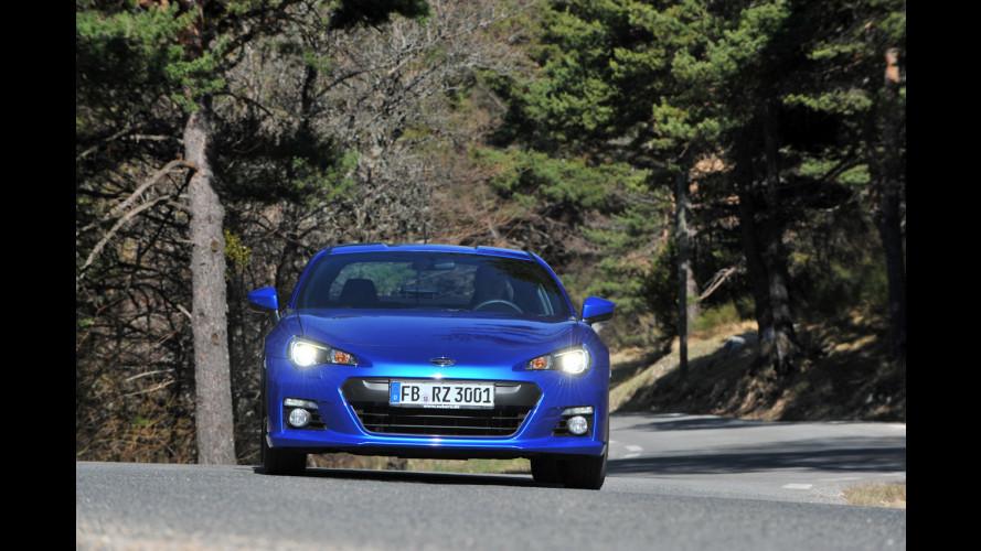 Subaru BRZ, una moderna coupé... d'altri tempi