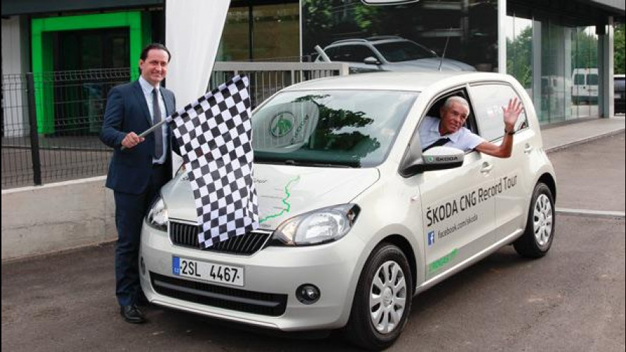 La sfida di Skoda Citigo: 2.700 km con 100 euro di carburante