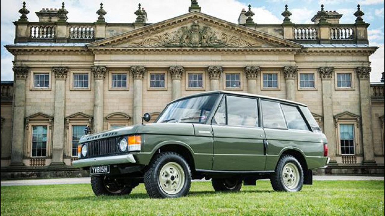 [Copertina] - Range Rover, all'asta la