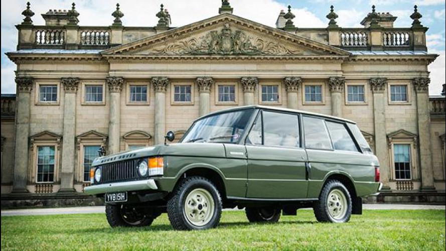 """Range Rover, all'asta la """"vera"""" nonna di tutti i SUV"""