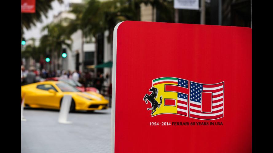 Marchionne in parata con 1.000 Ferrari