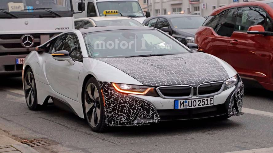 BMW i8 S Spy Photos