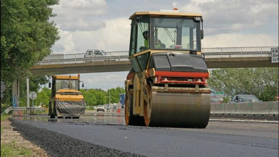 Nuove strade: il Cipe sblocca 400 milioni di euro