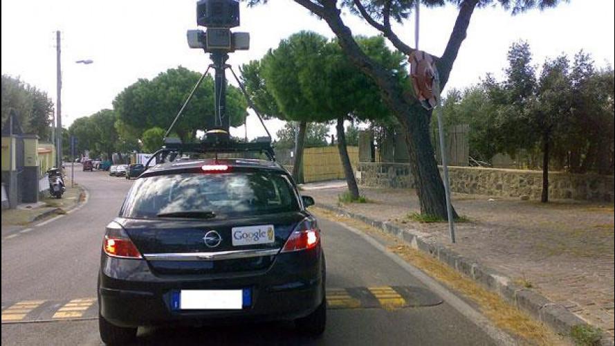 L'auto di Google Street View non viola la privacy