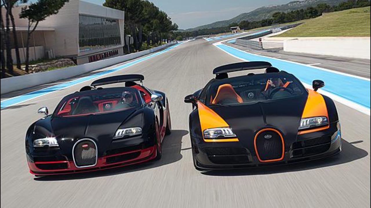 [Copertina] - Bugatti Veyron, giù il sipario a Ginevra