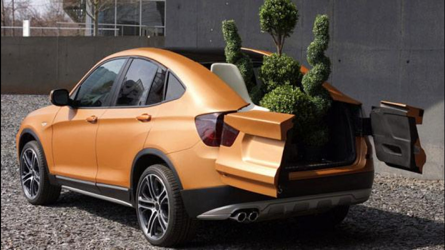 BMW Deep Orange 4 concept, il SUV che diventa pick-up