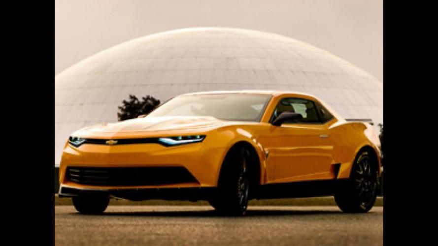 Chevrolet Camaro Bumblebee Concept in Transformer 4