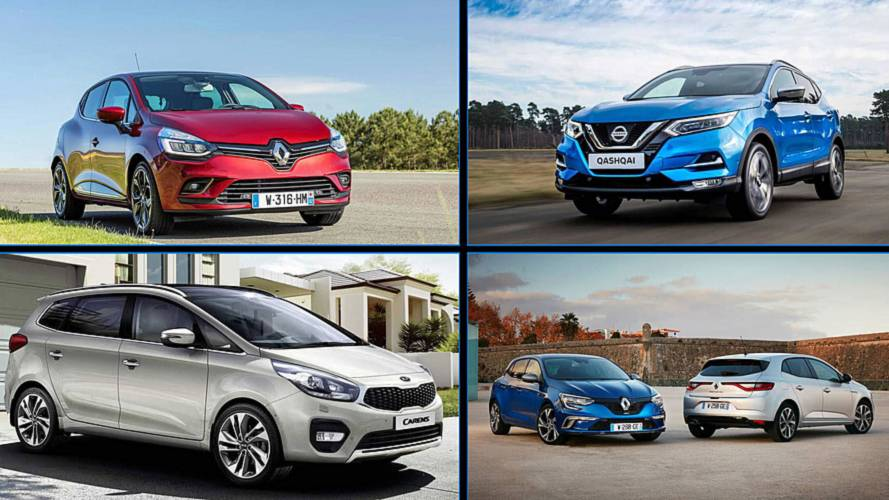 Los 10 coches nuevos más vendidos en España en agosto