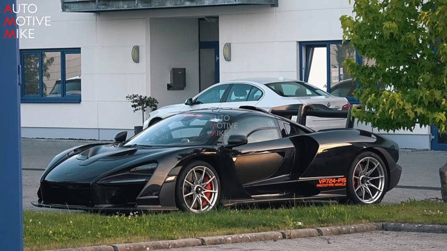 McLaren Senna Caught At Nürburgring, Could Be Seeking Lap Record