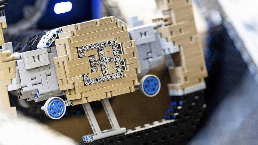 Bugatti Chiron, 1:1, il modellino 1:1 in Lego Technic
