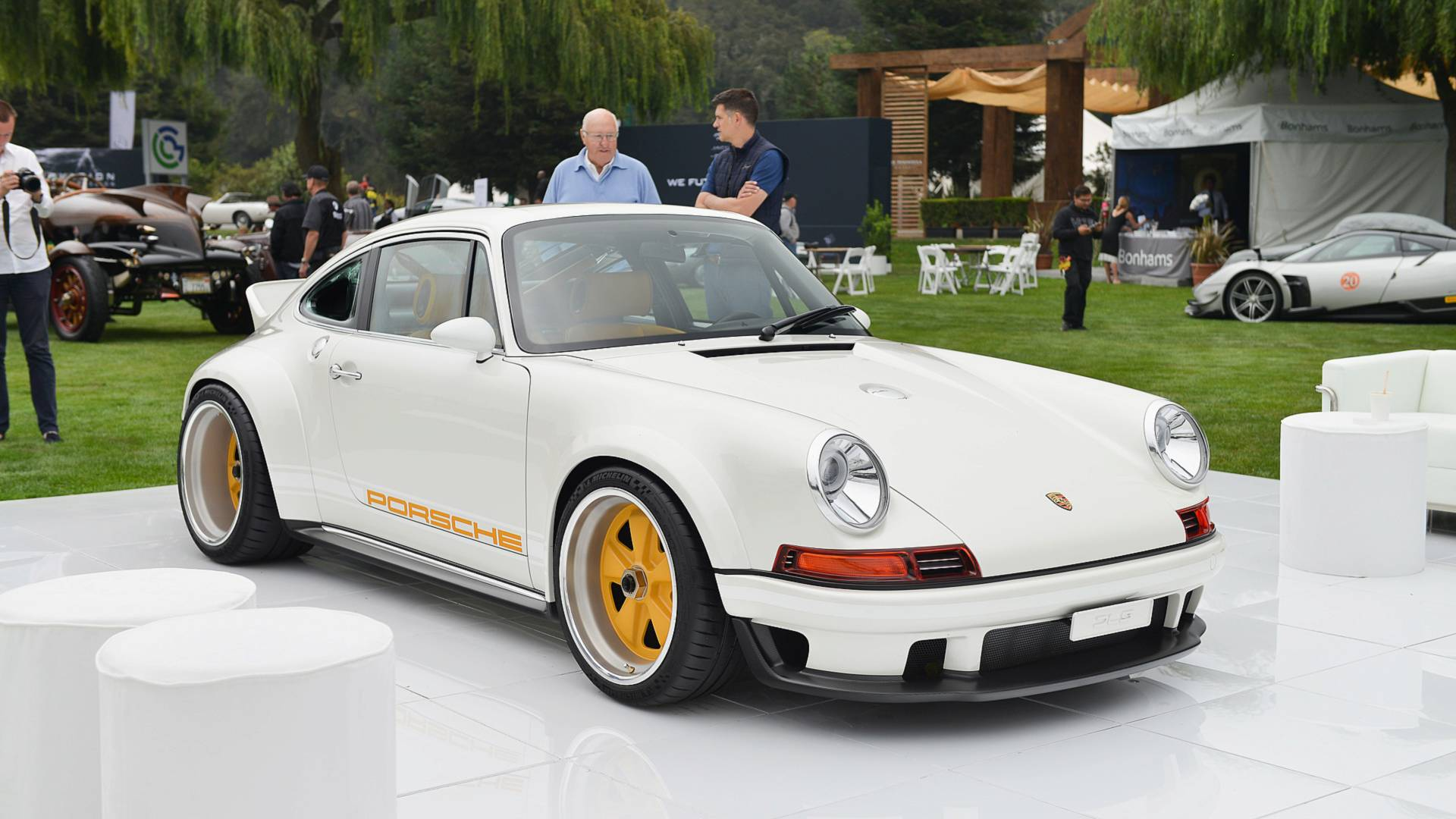 911 Restored By Singer-Williams At Pebble Beach Is Porsche