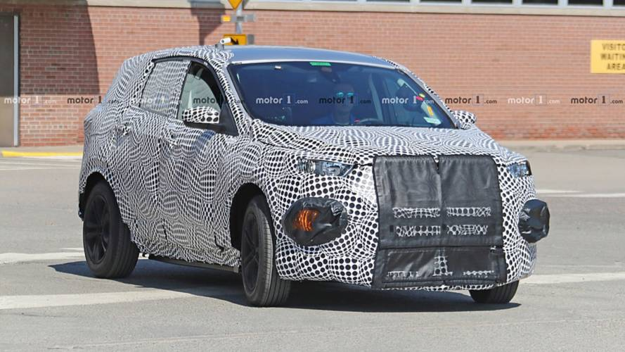 Ford Mach I CUV Spy Photo