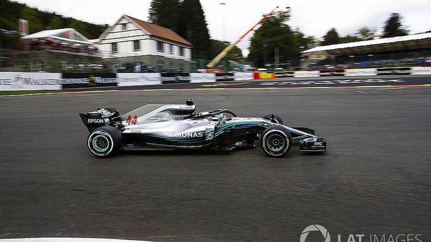 Formula 1: Hamilton brilha na chuva e conquista pole em Spa