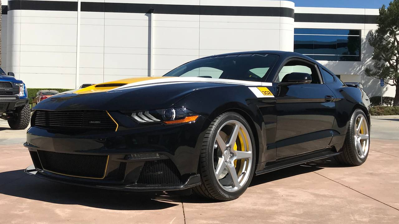 35th Anniversary Saleen Mustang