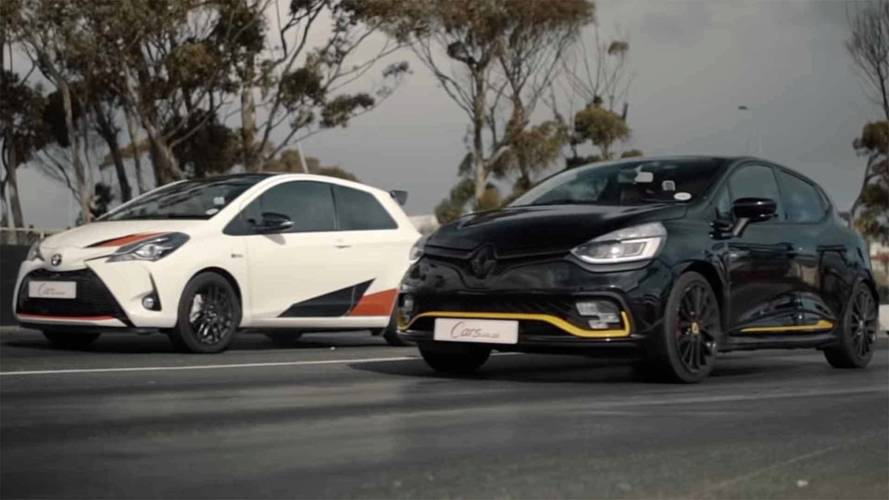 Toyota Yaris GRMN Makes Renault Clio R.S. 18 Seem Slow In Drag Race
