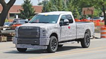 2020 Ford Super Duty Spy Photos